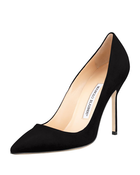 ec8a33b0e0e Manolo Blahnik BB Suede 105mm Pump