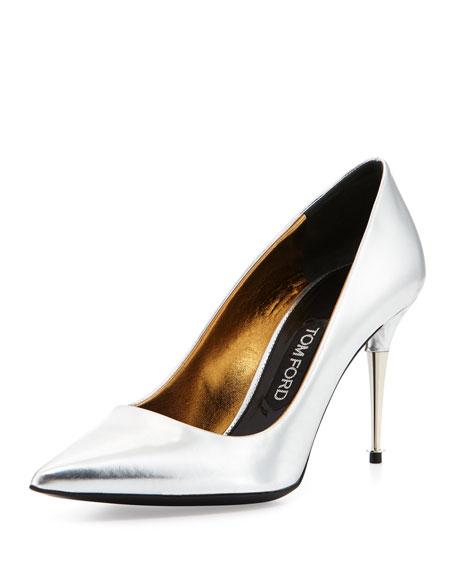 Tom Ford Metallic heel pumps KjlWiFVq3