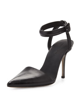 Alexander Wang Lovisa Pointy Ankle-Wrap Pump