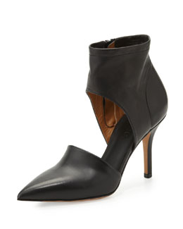 Vince Cristina Ankle Wrap Pump, Black