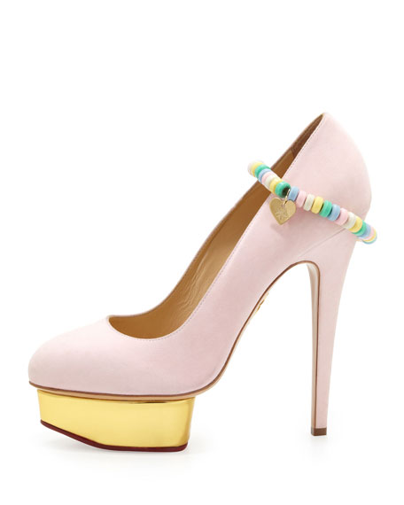 Sweet Dolly Pump with Candy Anklet