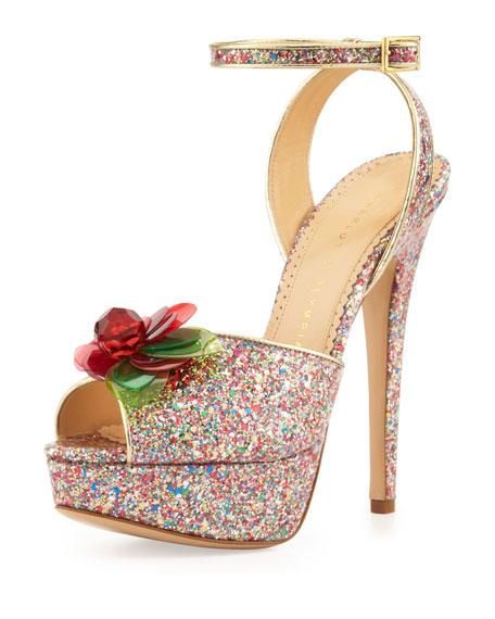 Sabrina Platform Sandal, Multicolor