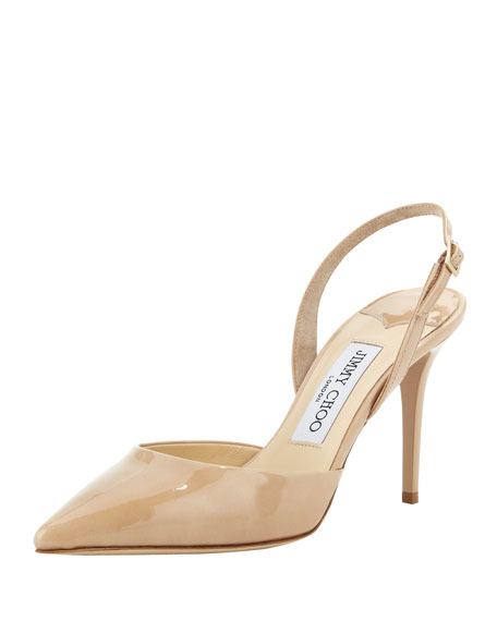 Jimmy Choo Power Slingback Pumps exclusive online free shipping best sale discount Manchester discount pictures marketable 8zNbw