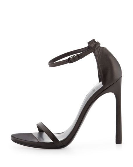 Nudist Ankle-Strap Sandals