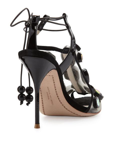 Sophia Webster Blake Jewels Sandal Black