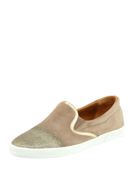 demi-degrade-suede-skater-slip-on by jimmy-choo