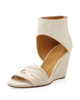 Coclico Juna Ankle-Cuff Wedge