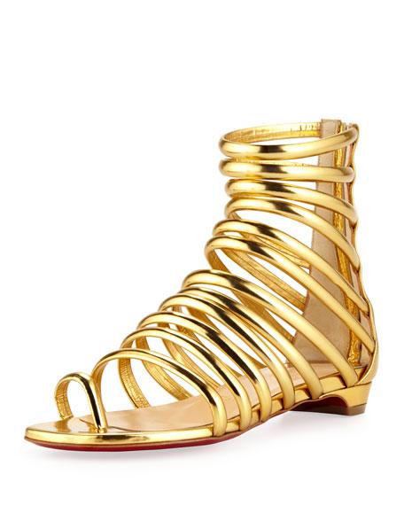 buy popular 72fa2 cb514 Catchetta Metallic Gladiator Sandal Gold