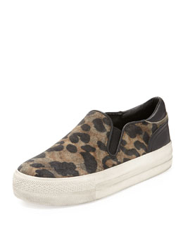 Ash Jungle Animal-Print Slip-On