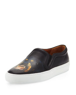 Givenchy Rottweiler Slip-On Skate Shoe