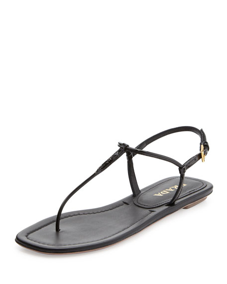 Prada Flat Thong Sandal