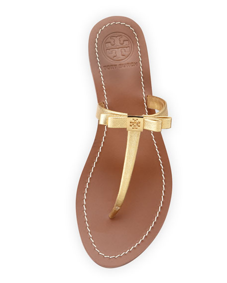 a65852aeb74 Tory Burch Leighanne Bow Thong Sandal
