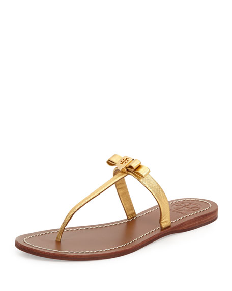 10c497522a459a Tory Burch Leighanne Bow Thong Sandal