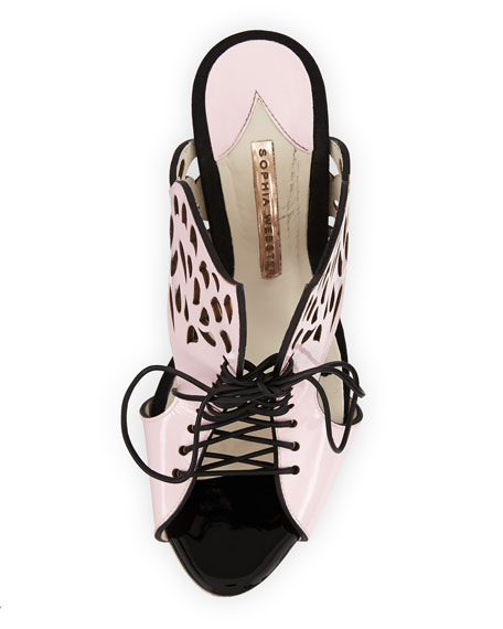 Kimimi Lace-Up Butterfly Sandal