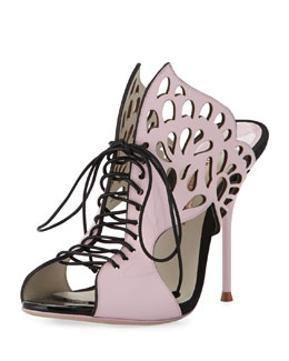 Sophia Webster Kimimi Lace-Up Butterfly Sandal