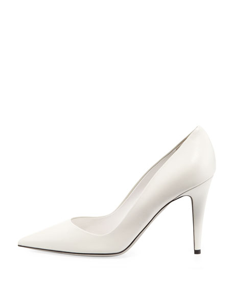 Napa Point-Toe Pump, Cream
