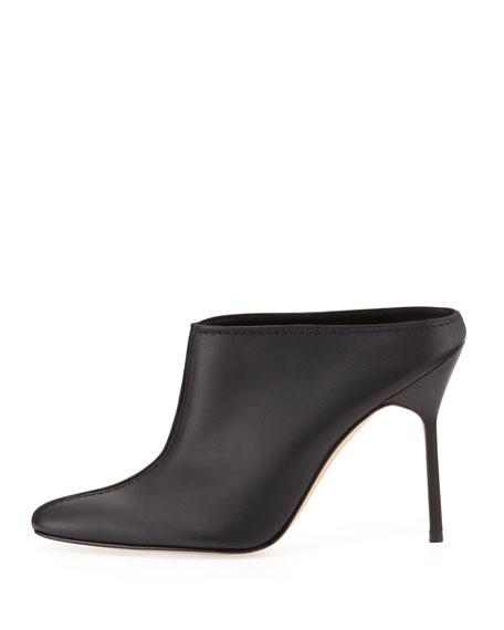 Samba High-Heel Leather Mule