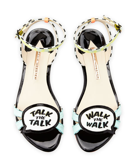 Ellen Walk the Walk Flat Sandal