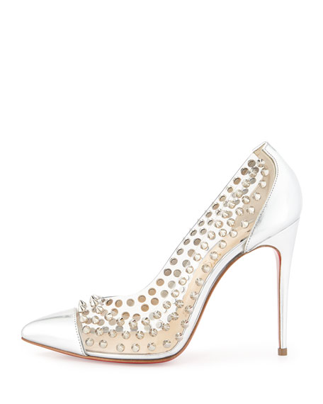 Spike Studded Red Sole Pump