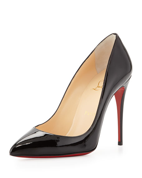 Pigalle Follies Point-Toe Red Sole Pump