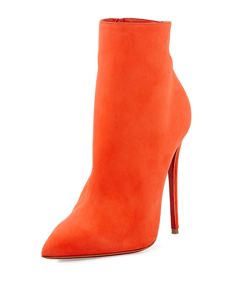 So Kate Booty Red Sole Ankle Boot, Papaye