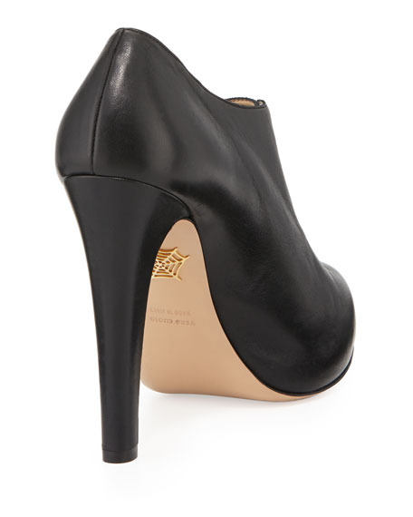 Alice Unzipped Ankle Boot