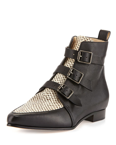 good selling for sale cheap wholesale price Jimmy Choo Buckle Ankle Boots HtmKDQoA