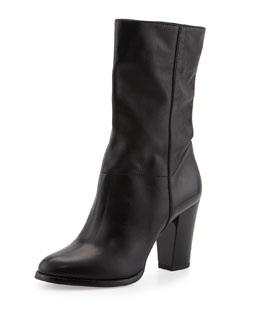 Jimmy Choo Music Stretch-Shaft Mid-Calf Boot