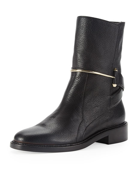 metal-bit-ankle-boot by balenciaga
