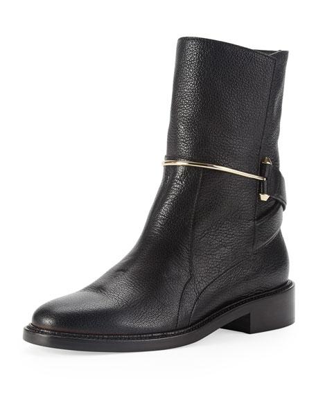 metal-bit-ankle-boot by balenciaga