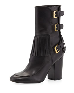 Laurence Dacade Merli Frangie Triple-Buckle Boot