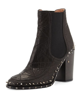 Flynn Studded Gored Ankle Boot