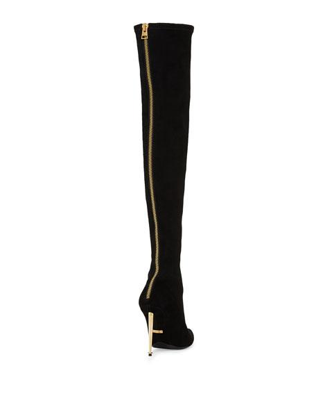 64993540e1c6e TOM FORD Zip-Back Over-the-Knee Boot