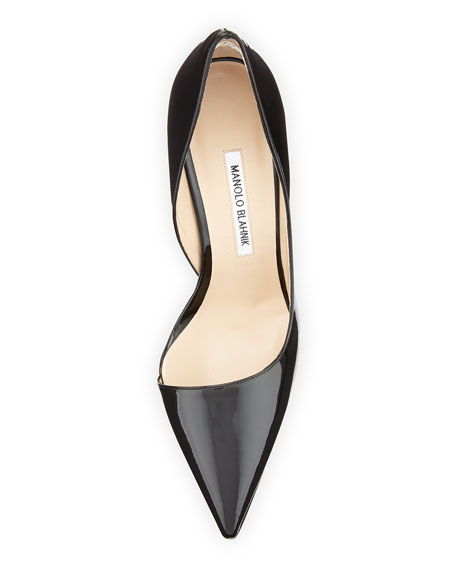 Stresty Patent Half d'Orsay Pump, Black