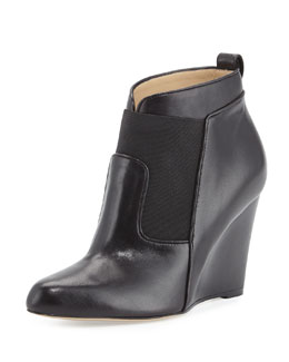 Altwood Napa Wedge Bootie, Black