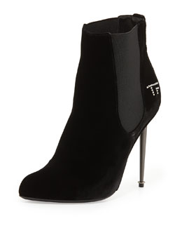 Tom Ford TF Velvet Ankle Bootie