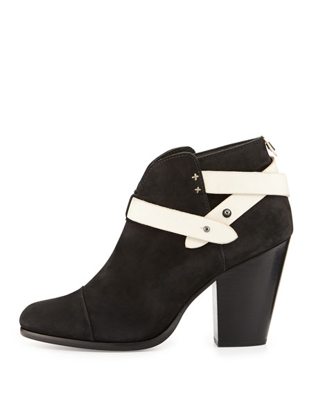 Harrow Nubuck Ankle Boot, Black