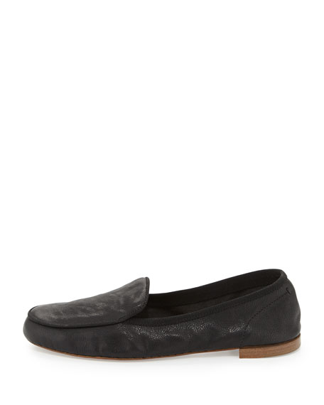 Beeman Leather Loafer, Black
