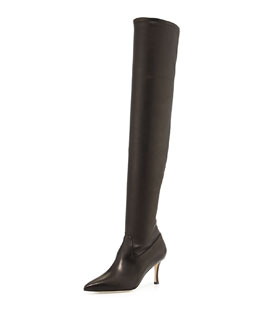 Manolo Blahnik Pascalaheri Over-the-Knee Boot
