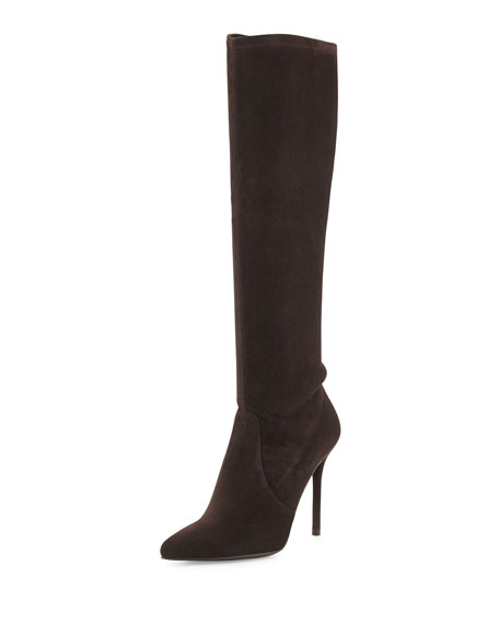 Benefit Stretch Suede Boot, Cola
