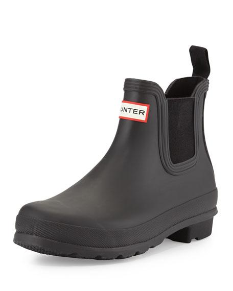 san francisco bd950 5e129 Hunter Boot Original Chelsea Rubber Boot, Black