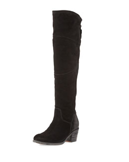 Alberto Fermani Circio Tall Knee Boot, Nero