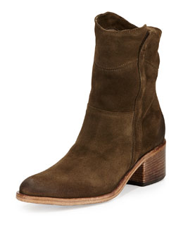 Alberto Fermani Martana Suede Ankle boot, Bosco