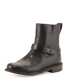 Rag & Bone Ashford New Moto Boot, Black