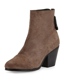 Rag & Bone Ryland Suede Ankle Boot, Taupe