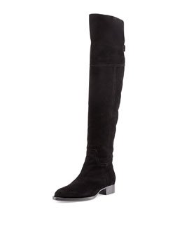 Aquatalia Gilead Suede Over-the-Knee Boot