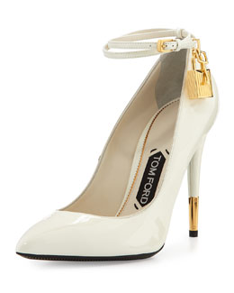 Patent Ankle-Lock Pump, Chalk