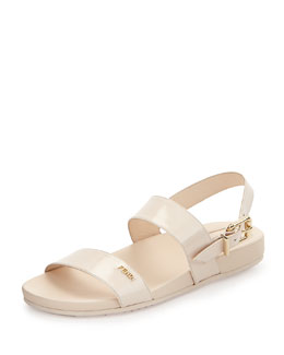 Double-Banded Flat Sandal