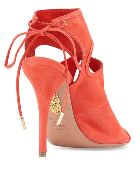 Sexy Thing Tie-Back Keyhole Sandal