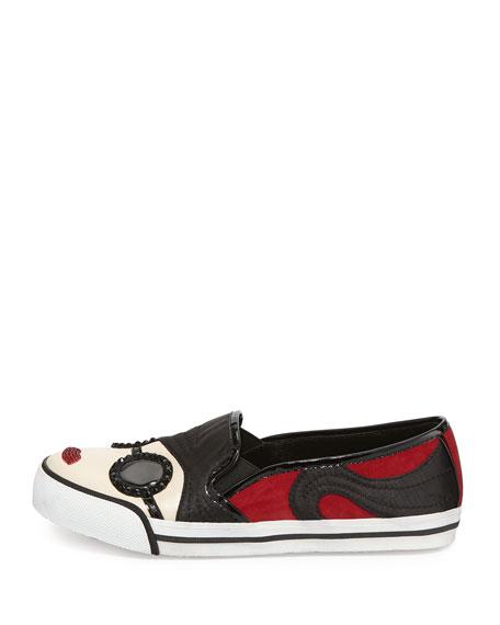 Stacey Face Slip-On Sneaker